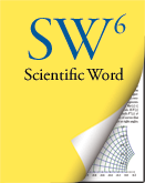 Scientific Word: Mathematical Word Processing and LaTeX Typesetting